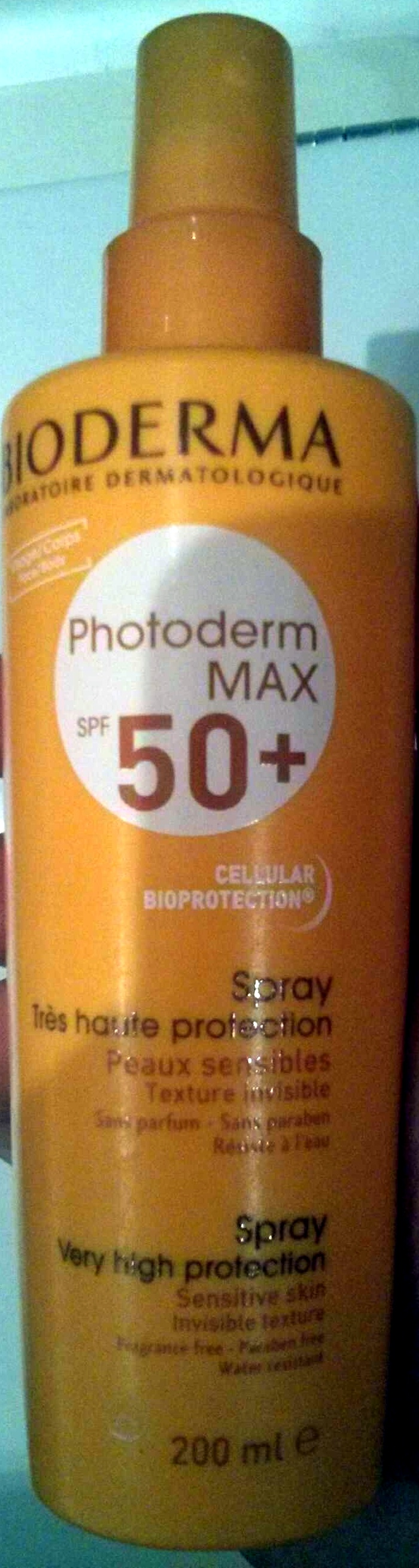 Photoderm MAX SPF 50+ Spray très haute protection - Product - en