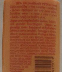 Stick large très haute protection - Ingrédients - fr