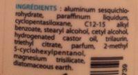 Etiaxil DeStick Anti transpirant 48H - Ingredients - fr