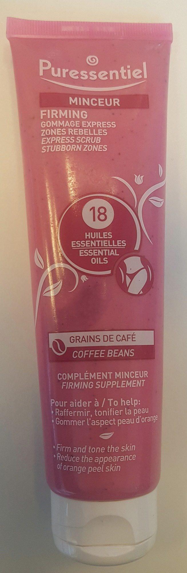 Puressentiel Minceur Gommage Express 18 huiles essentielles - Produit - fr