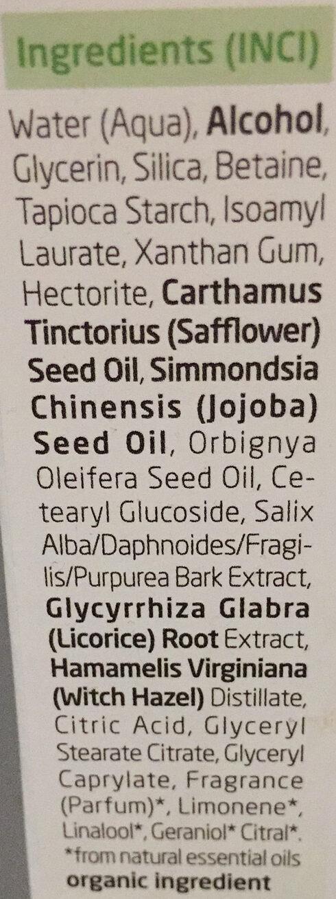 Fluide matifiant - Ingredients - fr