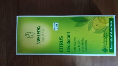 Déodorant citrus weleda - Product