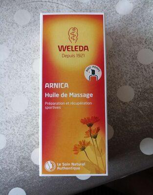 Huile de massage Arnica - Produit