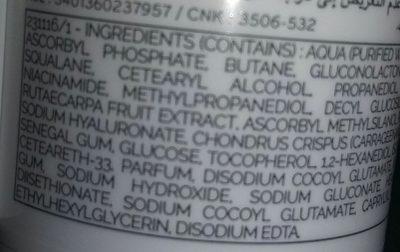 SVR Hydracid C50 Masque Eclat. Aérosol 50 ML - Ingredients