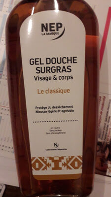 Le classique gel douche surgras visage & corps - Produit