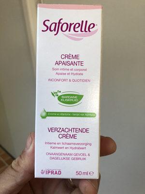 Saforelle crème apaisante - Product