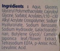 Hydralin Lubrifiant - Ingredients