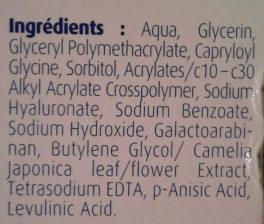 Hydralin Lubrifiant - Ingrédients - fr