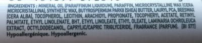 Atoderm lèvres - Ingredients - fr