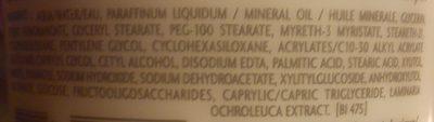 Atoderm Crème - Ingrédients - fr