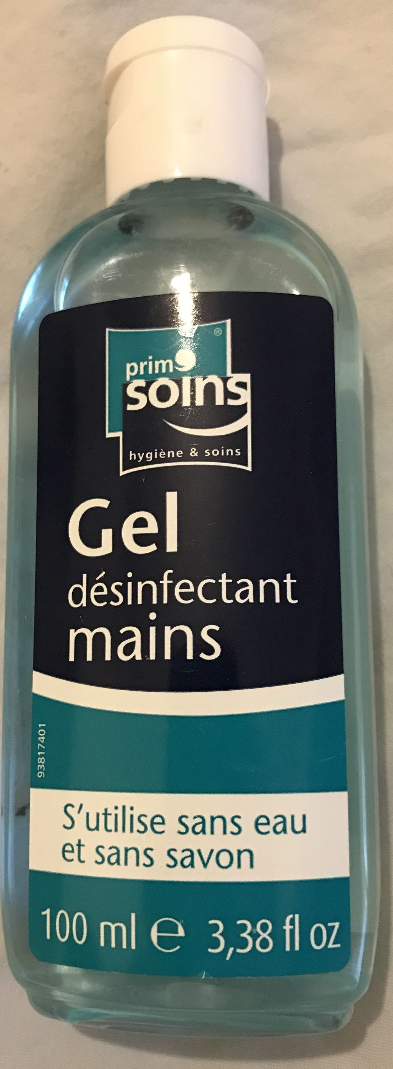 Gel désinfectant mains - Product - fr