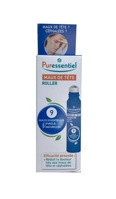 Puressentiel Maux de tête Roller 9 huiles essentielles - Product - fr