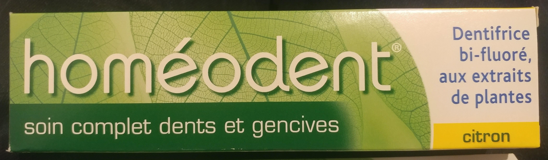 homéodent soin complet dents et gencives citron - Product
