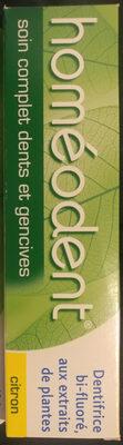 homéodent soin complet dents et gencives citron - Produit