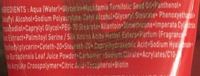 Asepta Vita Citral Soin TR+ - Ingrédients