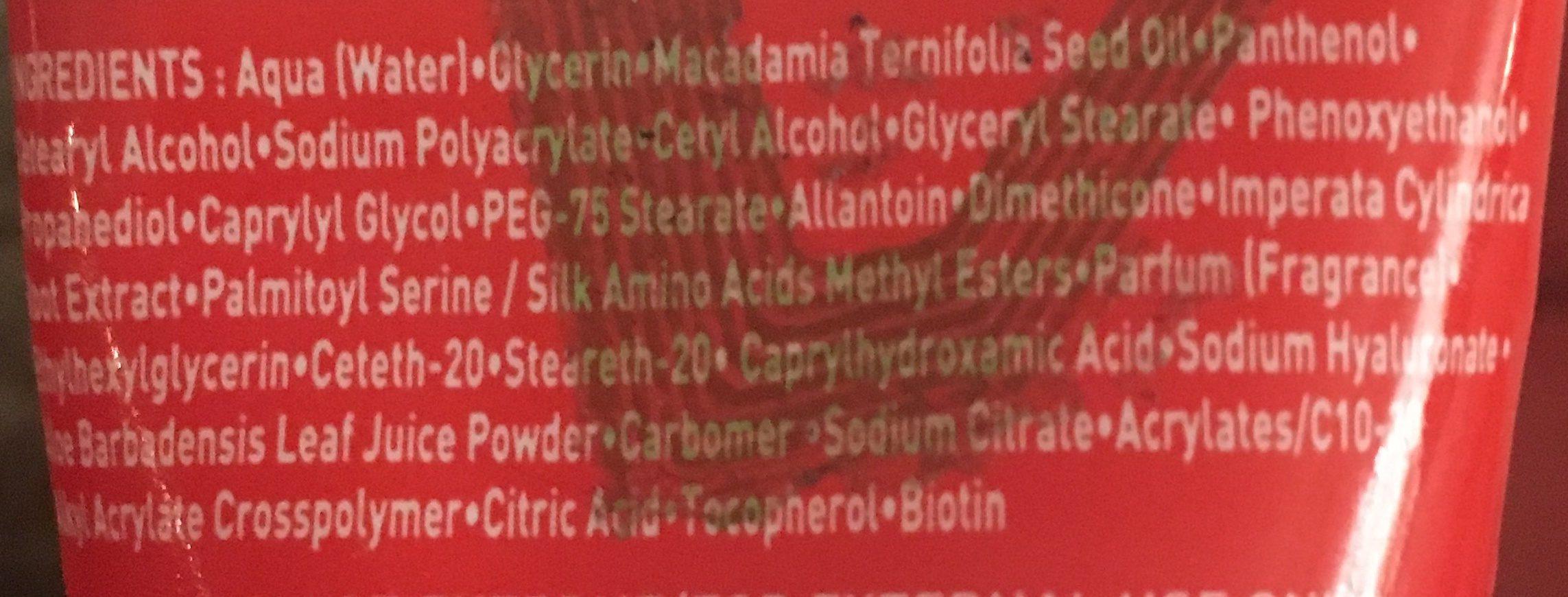 Asepta Vita Citral Soin TR+ - Ingredients - fr