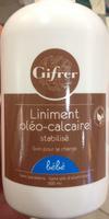Liniment oléo-calcaire stabilisé - Product - fr