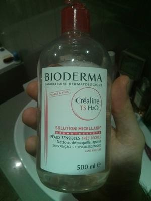 Créaline TS H2O Solution micellaire - Produit