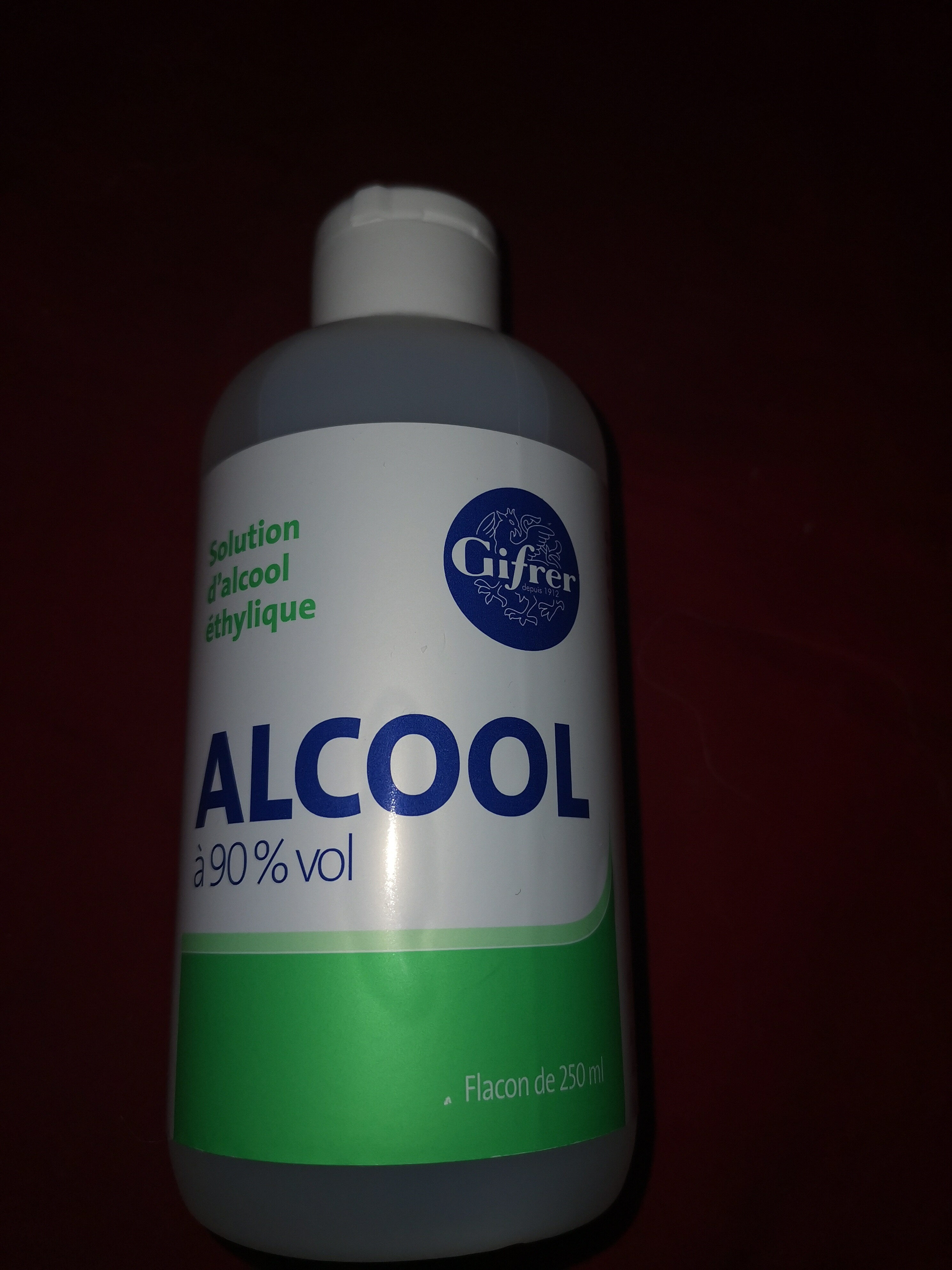 alcool à 90% vol - Ingredients - fr