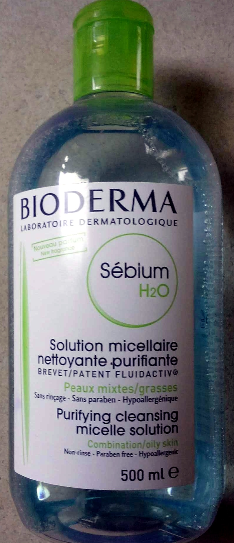 Solution micellaire nettoyante-purifiante - Product