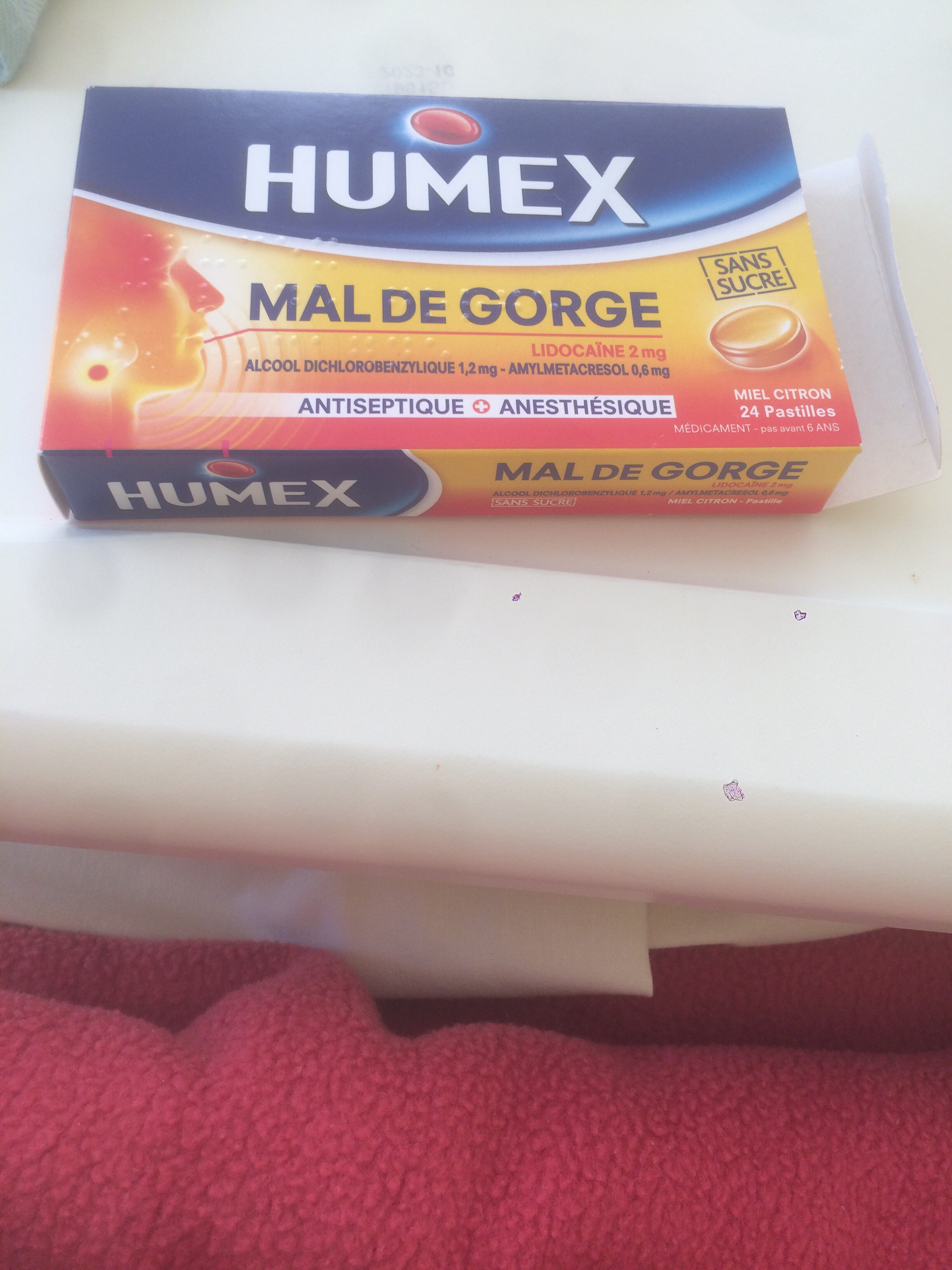 Humex mal de gorge - Product - fr