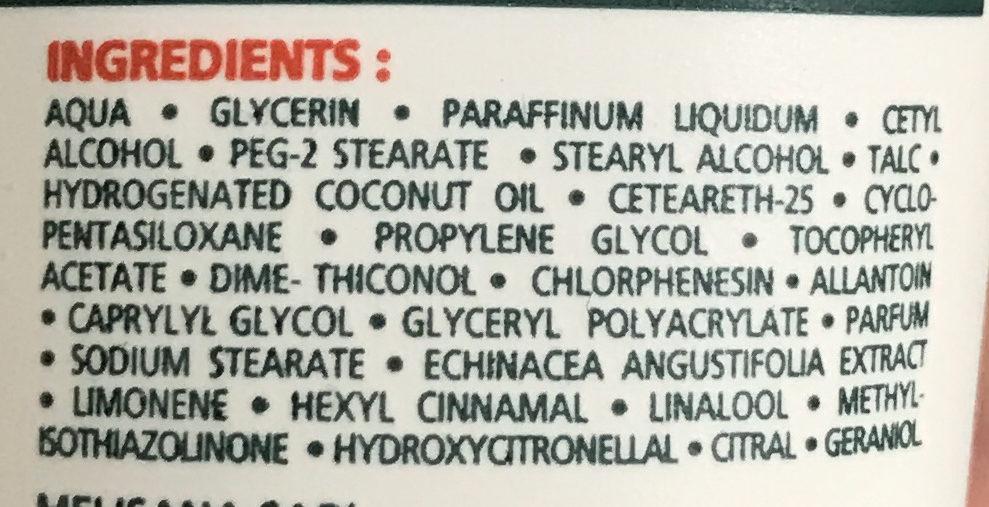Crème mains réparateur intense formule indienne - Ingredients