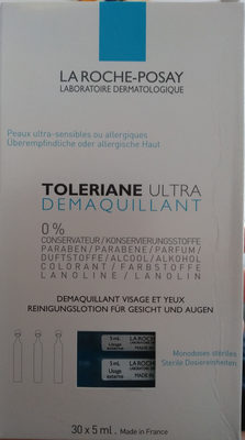 Toleriane ultra démaquillant Laroche Posay - Product