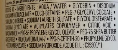 Lipikar Syndet Gel crème nettoyant anti-irritations - Ingrédients