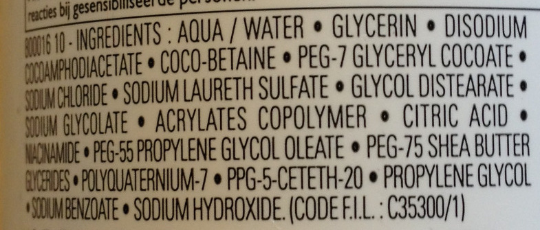 Lipikar Syndet Gel crème nettoyant anti-irritations - Ingredients - fr