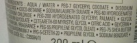Lipikar surgras Douche-crème concentrée Anti-Dessèchement - Ingrédients - fr