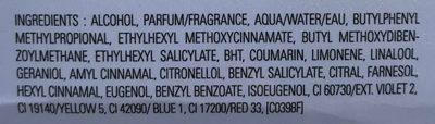 Angel - Ingredients - fr