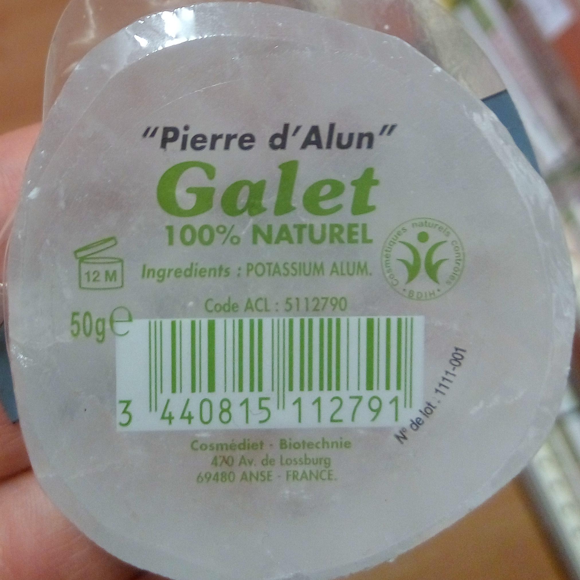 """Pierre d'alun"" Galet 100% naturel - Product"