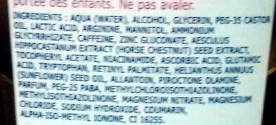 Dermo-soin épilation spécial poils incarnés - Ingredients