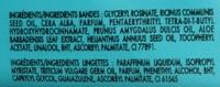 Bandes de cire froide aisselles - Ingrédients - fr