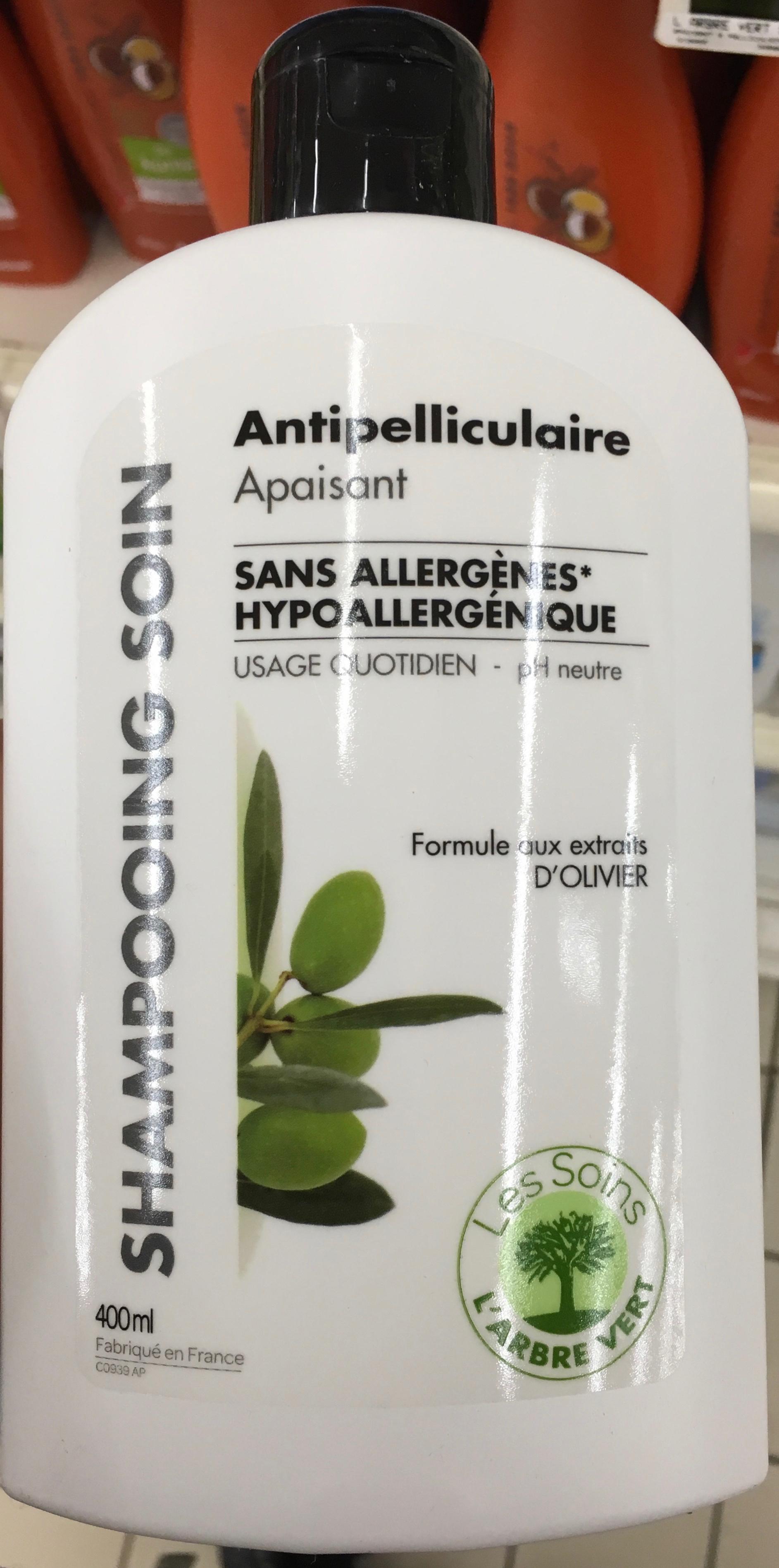 Shampooing soin Antipelliculaire Hypoallergénique - Produit