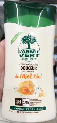 Crème douche Douceur aux extraits de Miel Bio - Produit