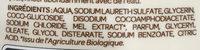 Crème douche Douceur aux extraits de Miel Bio - Ingrédients - fr
