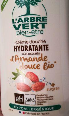 Crème douche hydratante aux extraits d'Amande douce - Produit