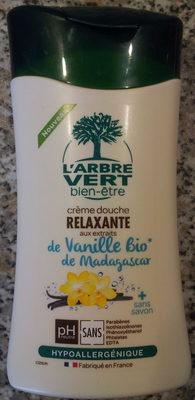 Crème douche relaxante aux extraits de Vanille Bio de Madagascar - Produit - fr