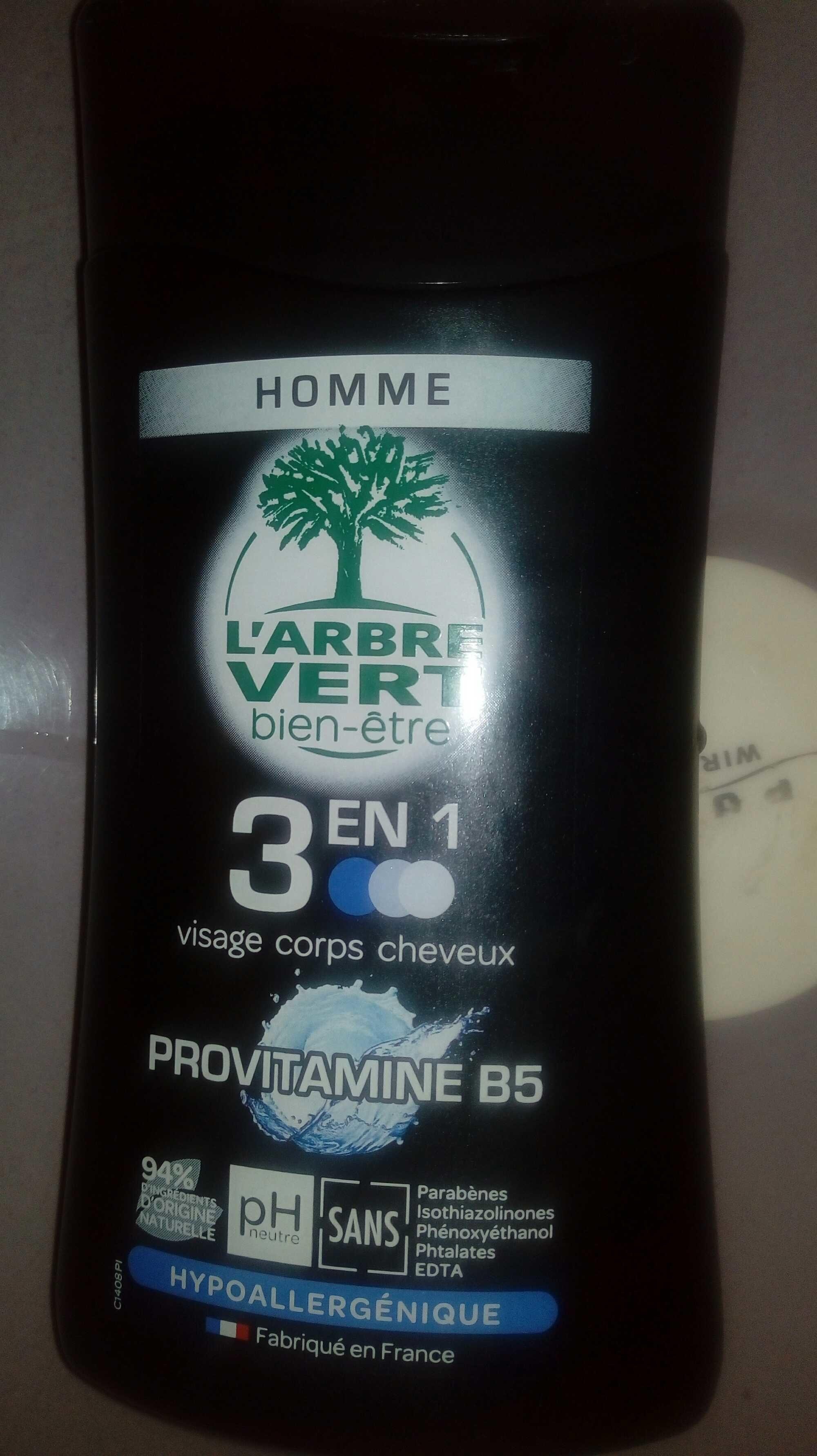 3 en 1 homme provitamine b5 - Product - fr