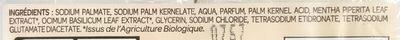 Savon Doux aux extraits de Menthe Bio et Basilic Bio (Lot de 2) - Ingredients - fr