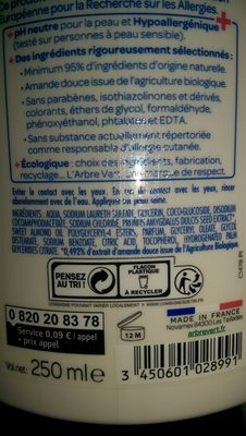 L'Arbre Vert Crème Douche Surgras - Product
