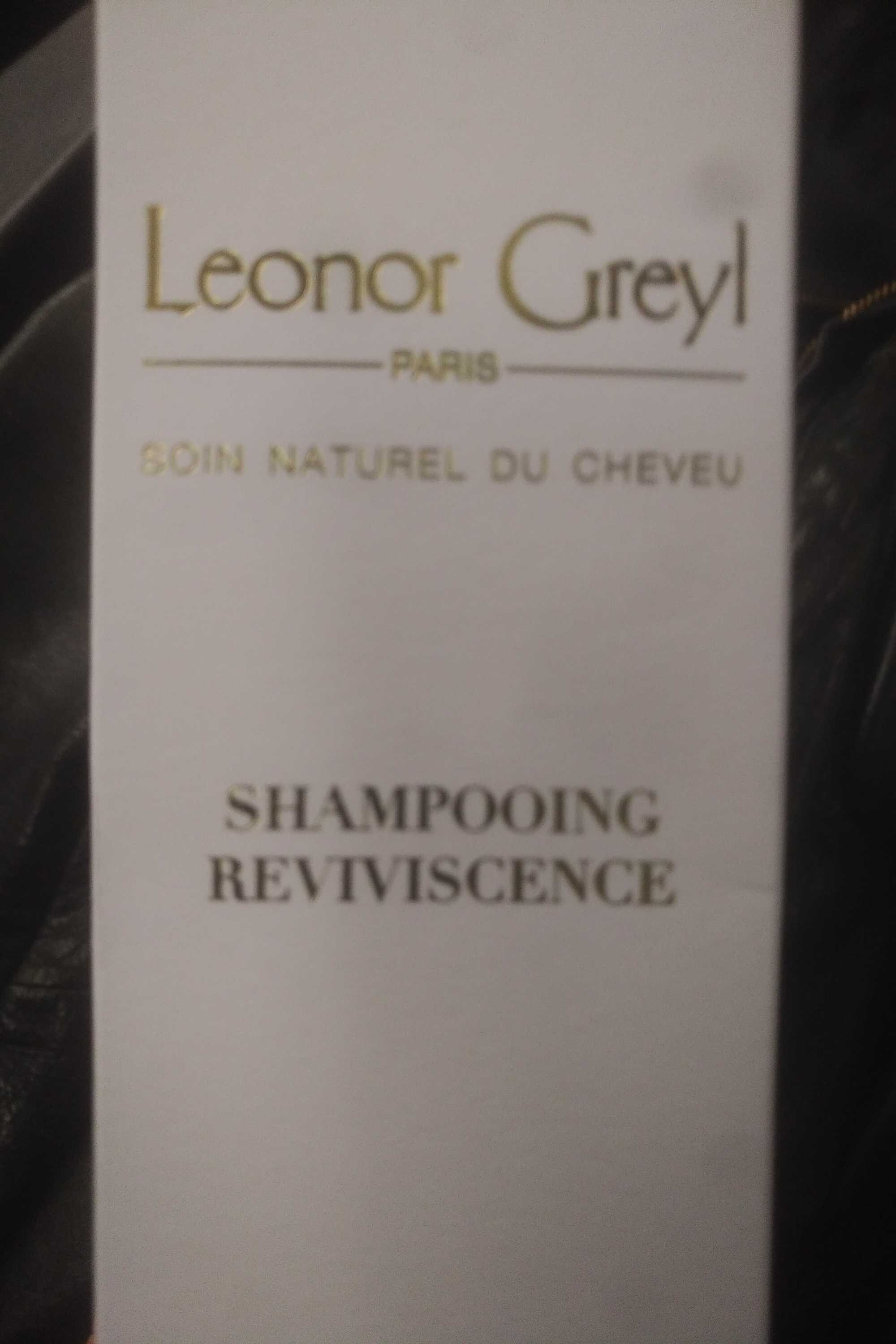 Shampooing reviviscence - Product