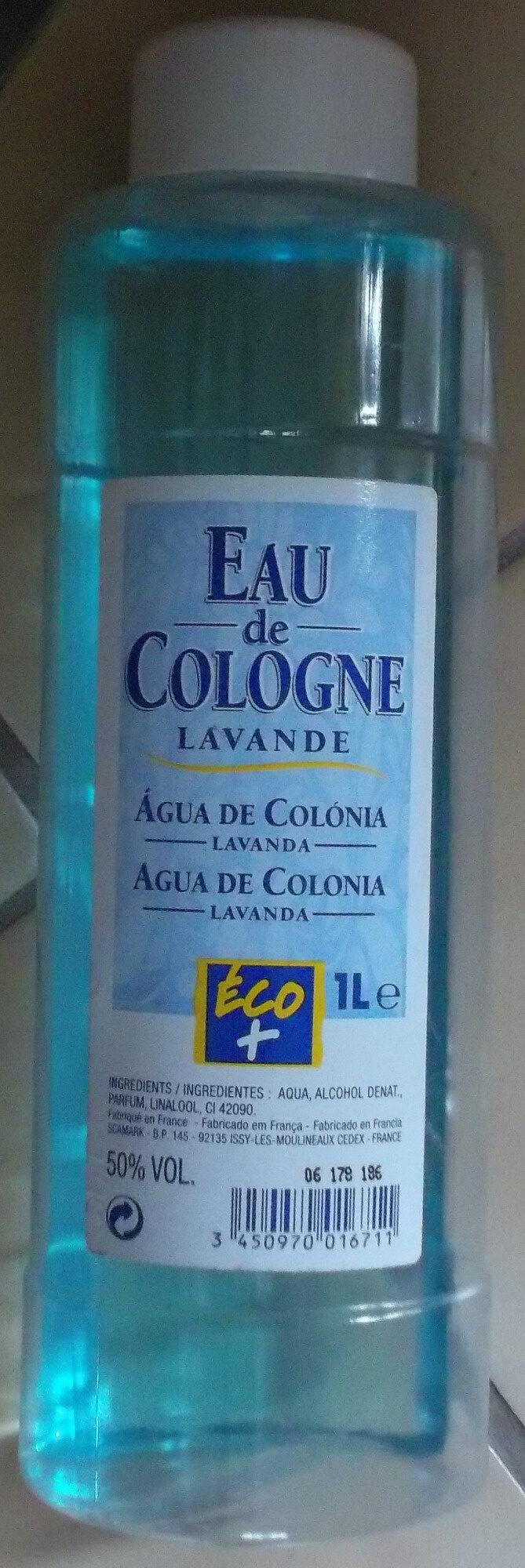 Eau de Cologne lavande - Product - fr