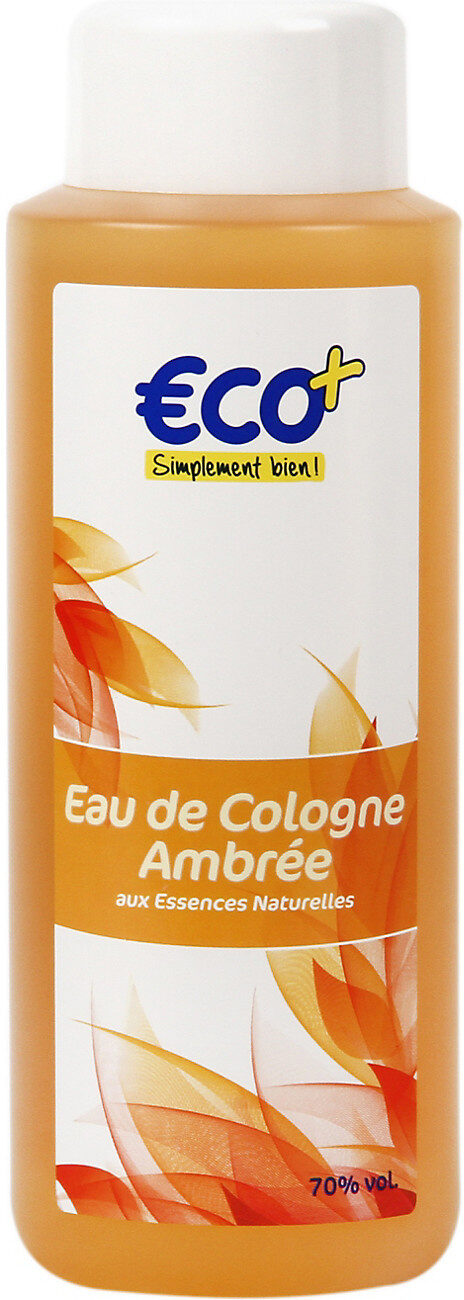 Eau de Cologne ambrée - Produit - fr