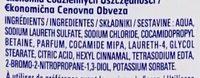 Gel douche senteur Amande - Ingredients - fr