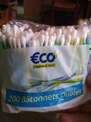 Bâtonnets ouates - Product - fr