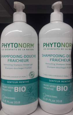 Shampooing-douche fraicheur senteur Menthe - Produit