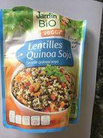 lentilles quinoa soja - Product - fr
