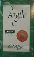 Argile Verte Surfine Montmorillonite - 300 G - Ciel D'Azur - Produit